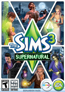 The Sims 3 Supernatural Expansion Pack