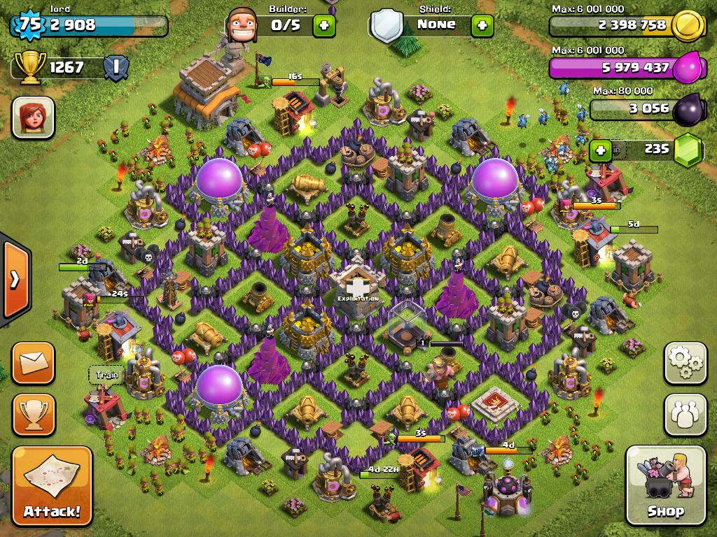 clash of clans help