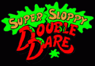 Super Sloppy Double Dare Logo 1989