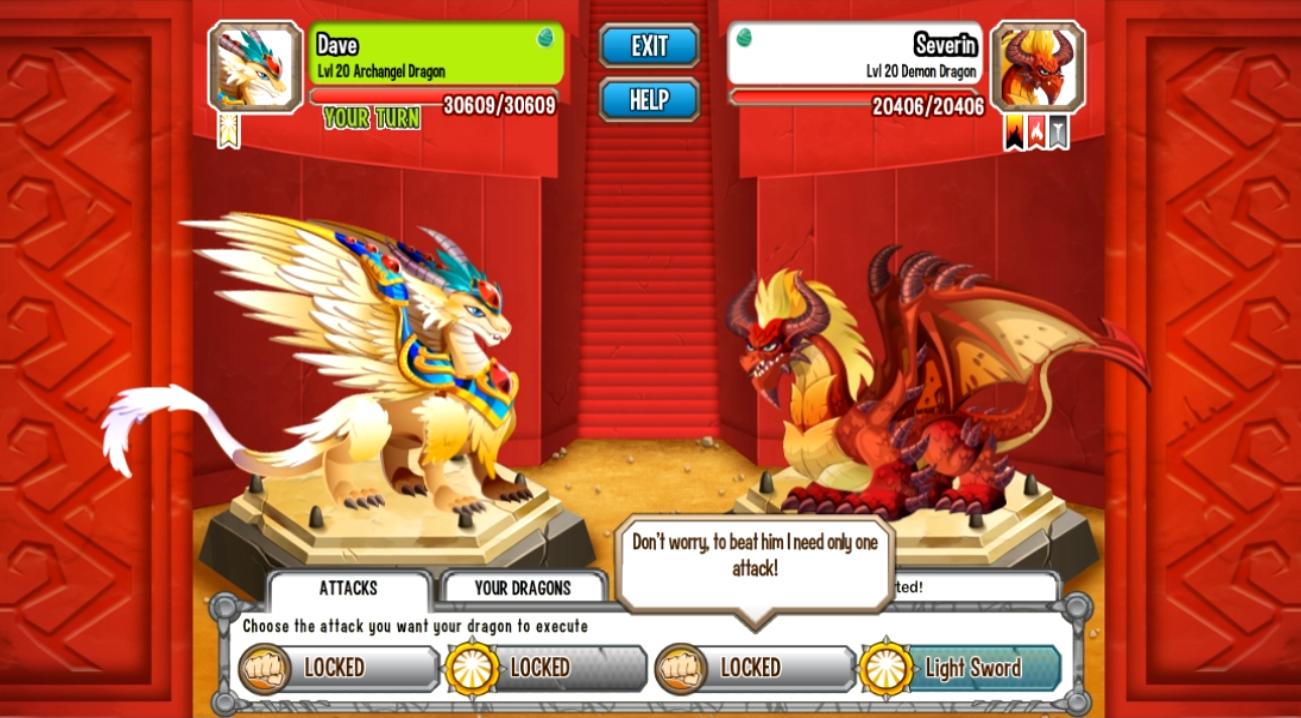 Archangel dragon - Dragon City Wiki