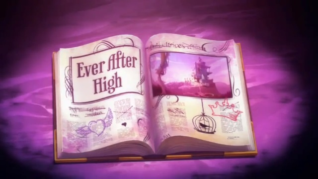 SÍ O NO (juego muy divertido) The_World_of_Ever_After_High_-_intro_book