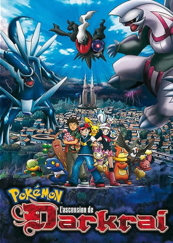 Pokémon Le Film 10 - L'ascension De Darkrai