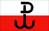 Polish home army flag