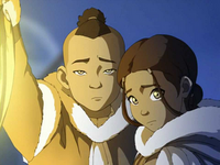 Sokka and Katara