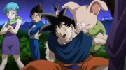 Bulma, Vegeta, Oolong y Goku (2013)
