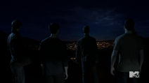 Teen Wolf Season 3 Episode 3 Fireflies veiw of Beacon Hills