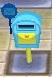 Übersicht aller Außenteile für's Haus Mailbox_-_light_blue