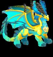 Pure elétrica do dragão 3c