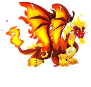 Pure Dragon Flame 3c