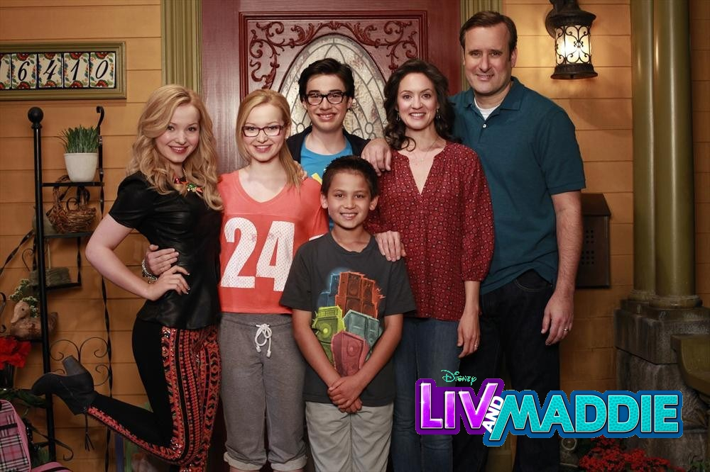 Disney Channel Liv and Maddie Cast