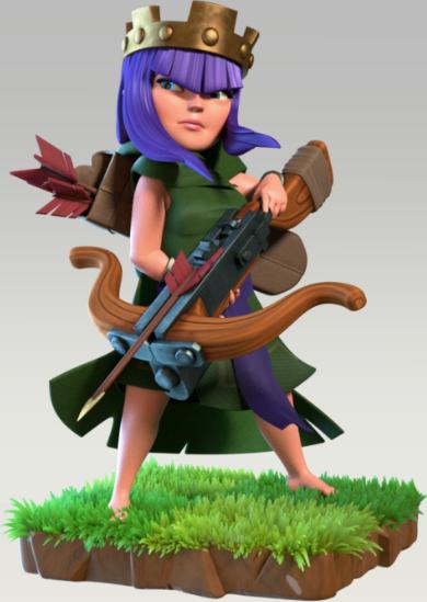 Bogenschützen-Königin - Clash of Clans Wiki