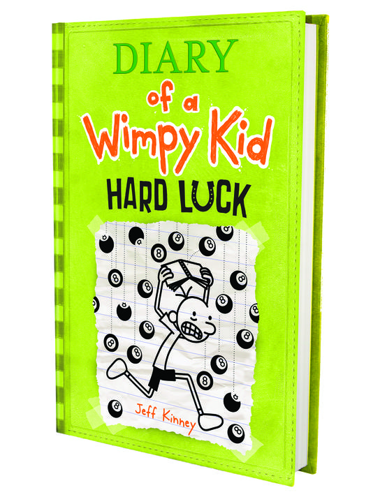 Diary of a Wimpy Kid Hard Luck Book