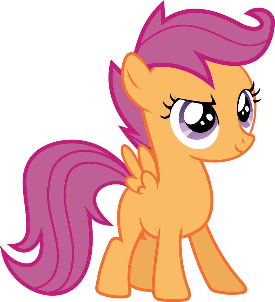 Scootaloo My Little Pony Fan
