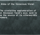 Atma of the Voracious Violet