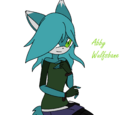 Abby the Timber Wolf