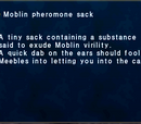 Moblin pheromone sack