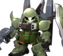 Blaze Zaku Warrior