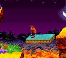 Crash Bandicoot Purple: Ripto's Rampage Places