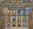 Lemurian Halberd