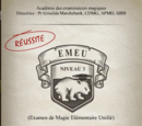 Examen de Magie lmentaire Unifi