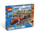 3677 Red Cargo Train