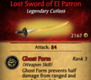Lost Sword of El Patron