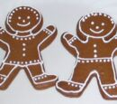 Crispy Gingerbread Cookies
