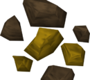 Gold ore