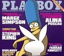 Marge ser capa da &quot;Playboy&quot; americana