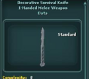 Decorative Survival Knife