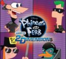Phineas and Ferb: Across the 1st and 2nd Dimensions