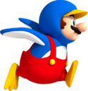 NSMBW Artwork Pinguin-Mario.png