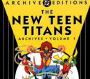 New Teen Titans Archives Vol 1