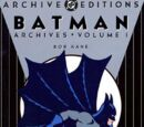 Batman Archives Vol 1