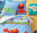 5, Rue Sésame bedding