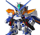 Astray Blue Frame Second L (Lohengrin Launcher)
