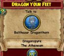 Dragon Your Feet
