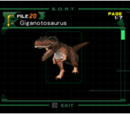 Giganotosaurus (file)