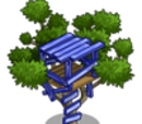 Blue Tree House