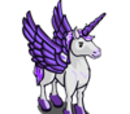 Purple Pegacorn