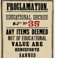 Educational Decree Number Thirty-Five