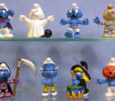 2006 Smurf figurines
