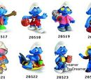 2003 Smurf figurines