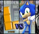 Solid Snake vs L-Block vs Sonic the Hedgehog vs Squall Leonhart 2007