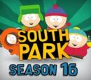 Anexo:16ª temporada de South Park