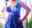 Bottlecap Dyed Dress