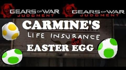 Gears of War Judgment Easter Egg (Carmine's Insurance) 1080p