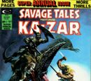 Savage Tales Annual Vol 1 1