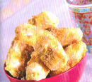 Deep-fried Bananas with Caramel Sauce
