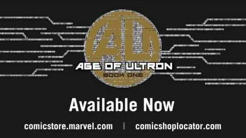 Age of Ultron 6 Cover Recap -- Marvel AR